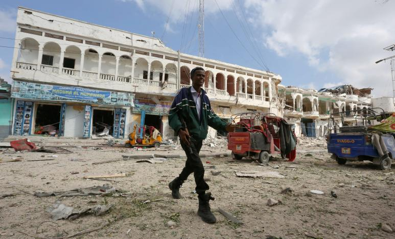 At Least 13 Killed in Extremist Attack on Mogadishu Hotel