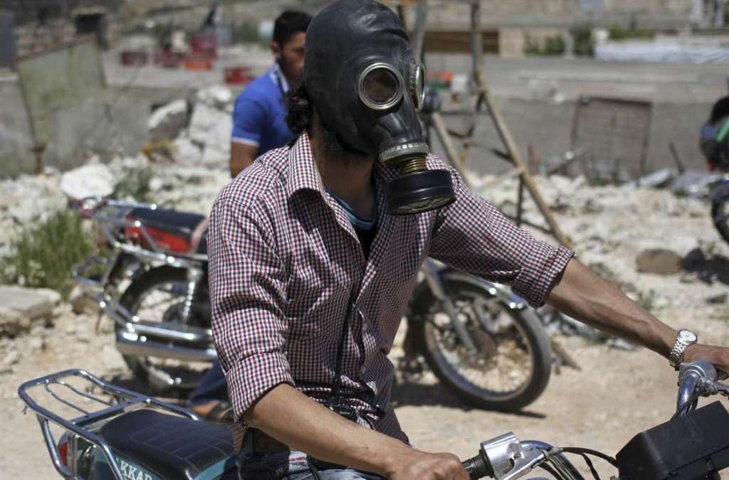 U.S. Sanctions against Syrians for Using Chemical Weapons