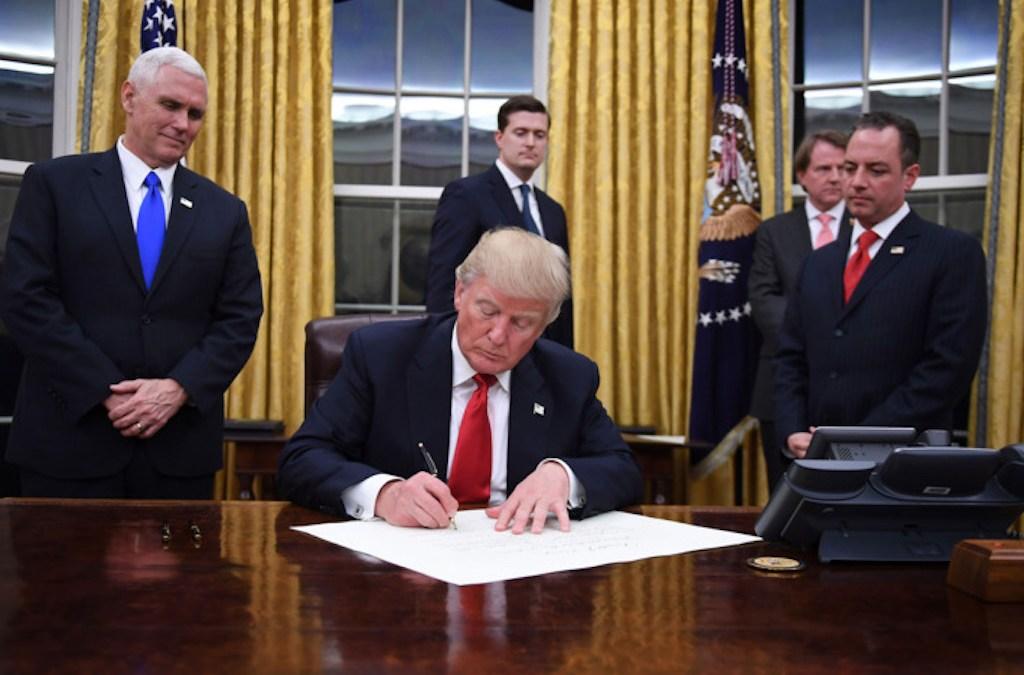 Trump Orders Strict Immigration Screening