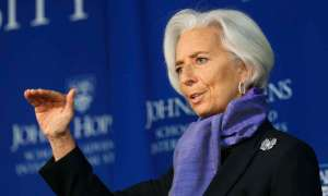 IMF Managing Director Christine Lagarde. Reuters