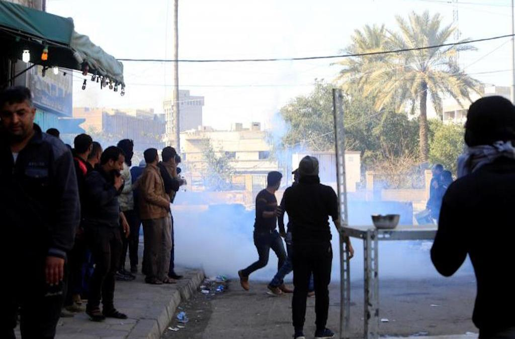 Iraq Green Zone Protests Turn Deadly
