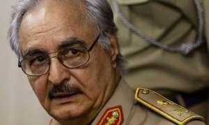 Libyan General Khalifa Hafta/