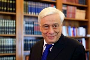 Greek President Prokopios Pavlopoulos