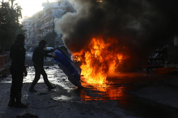 Syria: Dozens Killed in Attacks Targeting Regime Security Offices in Homs