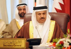 Gulf Cooperation Council Chief Abdu Dr. Abdullatif Al-Zayani,