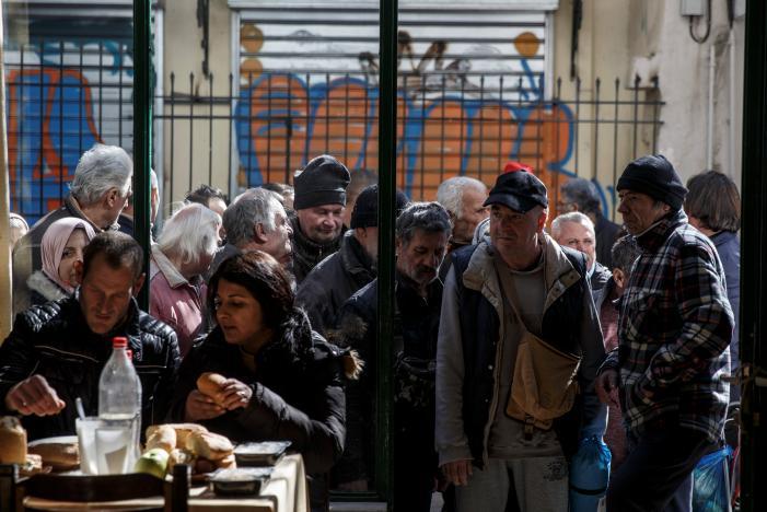 Greeks Sink Deeper in Poverty