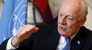 United Nations Special Envoy for Syria Staffan de Mistura. Reuters