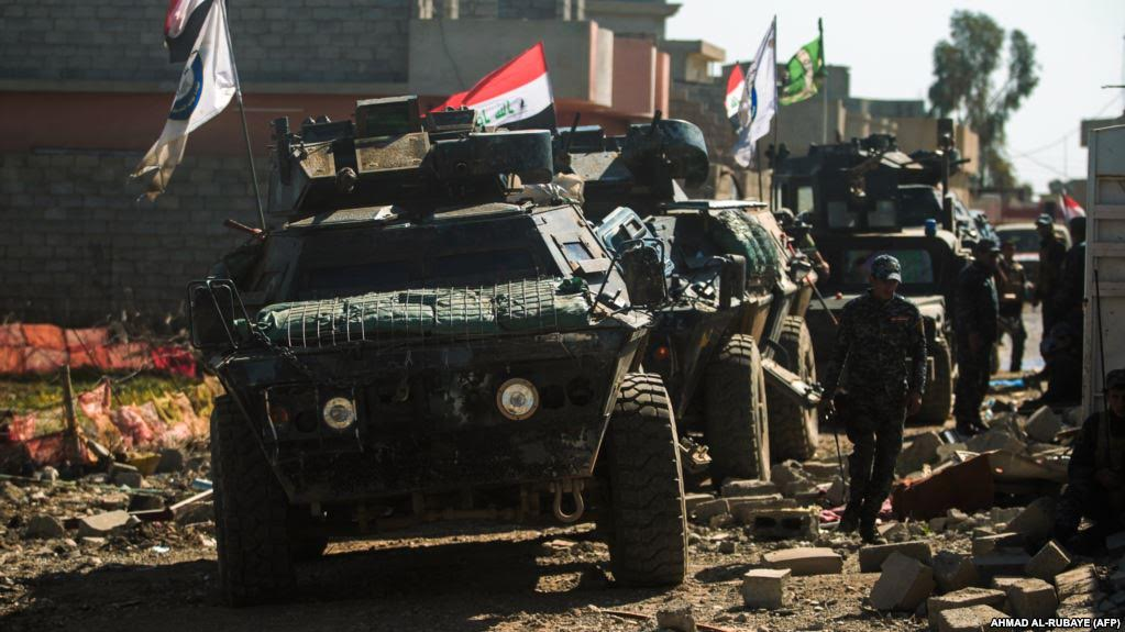 Iraqi Forces Seek to Link West Mosul with East