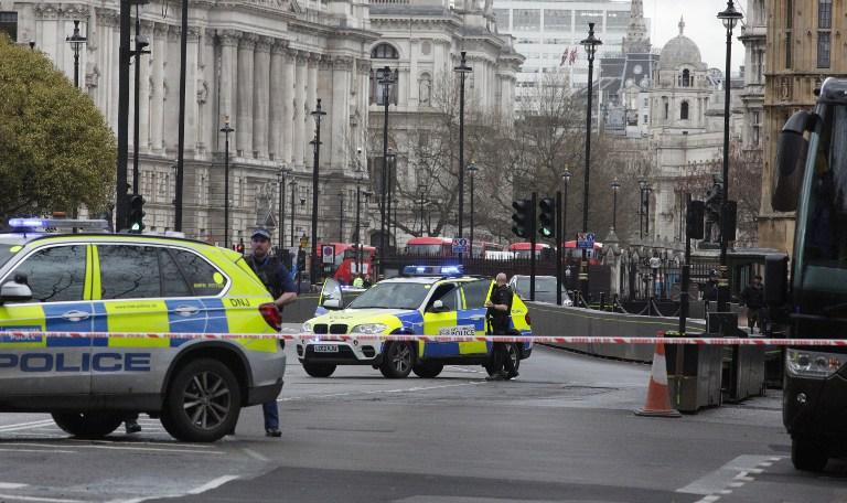 Eight Hours, 2,000 Hearts Beating behind British Parliament Lockdown