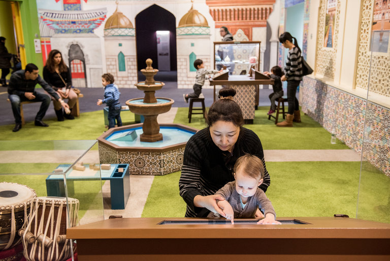 A Children's Museum 'Surprise Blockbuster': A Show on Islam