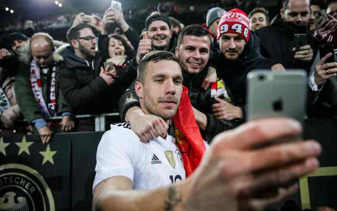 Who could Begrudge Lukas Podolski his Roy of the Rovers Ending?