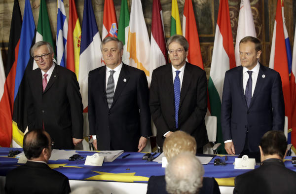 EU Renews Vows on 60th Anniversary by Committing to 'Common Future'