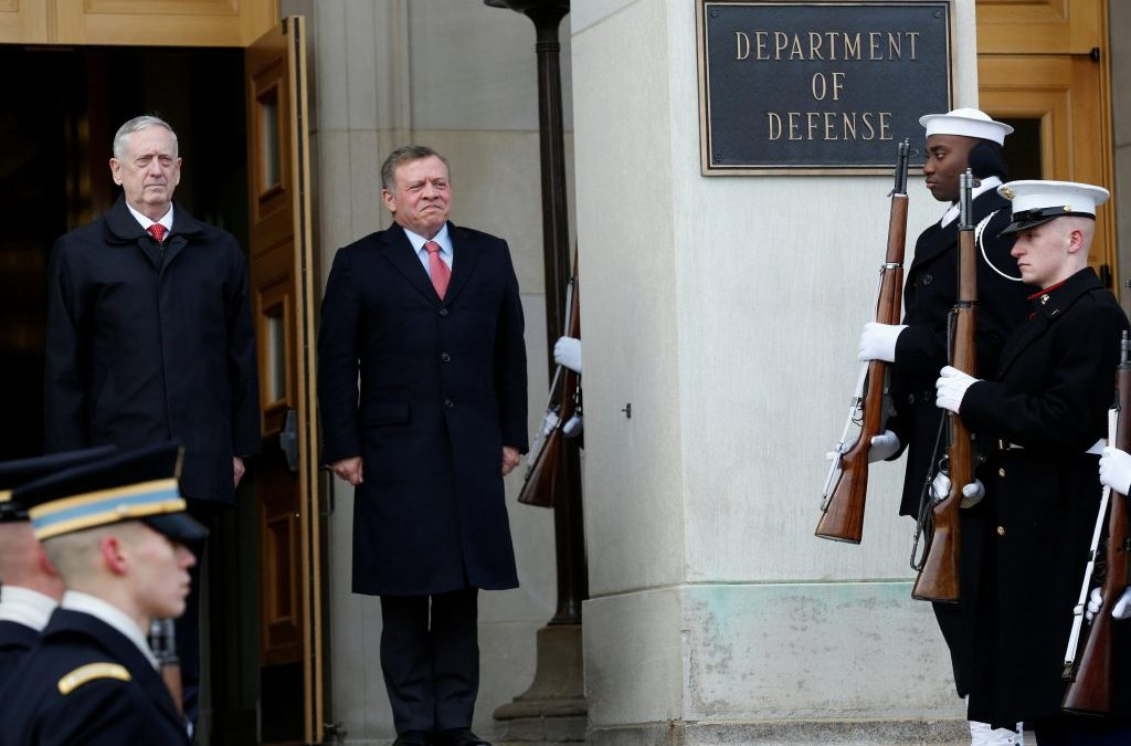 Jordan's King to Meet with Trump following the Arab Summit