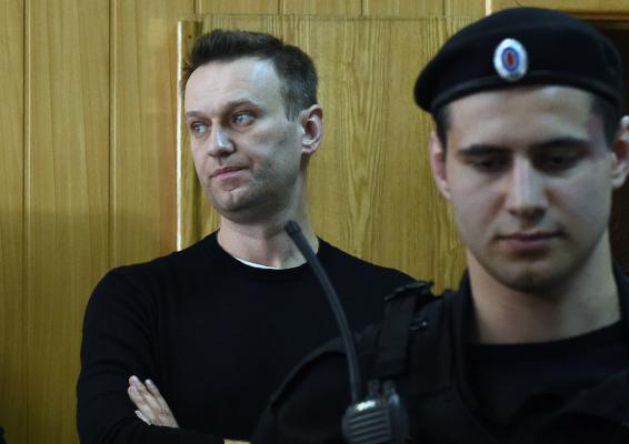 Putin Critic Jailed for 15 Days over Demonstrations across Russia