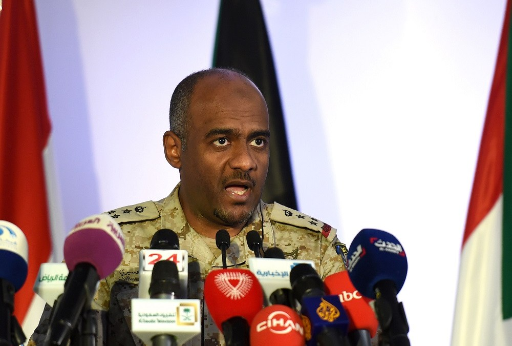 Arab Coalition Spokesman: We Will Not Ignore Iran's Arms Smuggling in Yemen