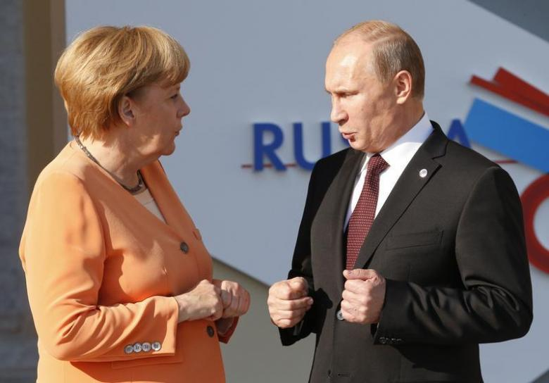 Germany's Merkel to Visit Russia for First Time since Crimea's Annexation