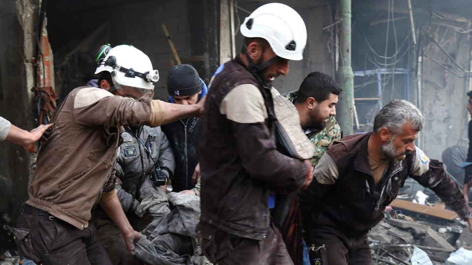 US Claims Syria Strike, Denies Targeting Mosque