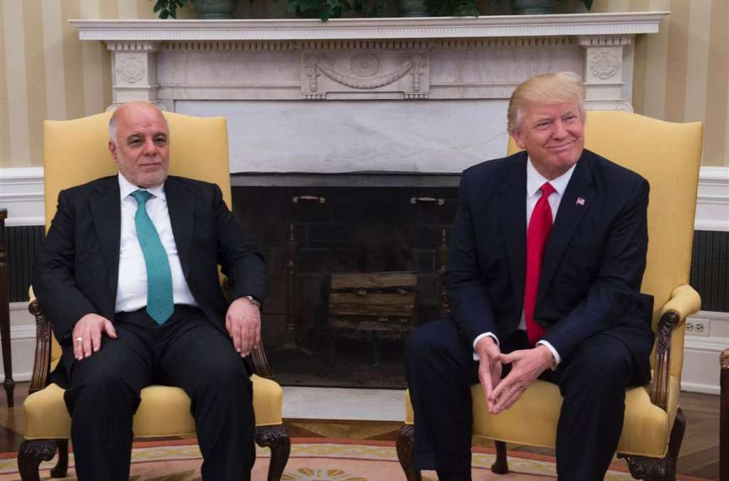 Trump Calls on Abadi for more Anti-ISIS Cooperation