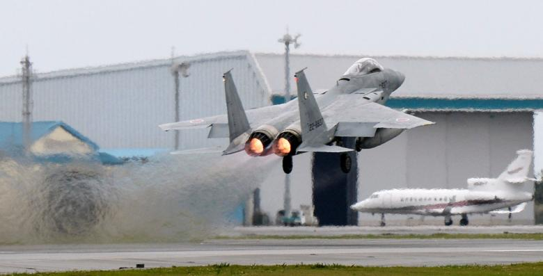 Japan Scrambles Fighter Jets at Record Pace as China Tensions Simmer