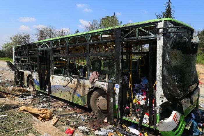 Bus Bombing Marks End to Tragic Evacuation Deal in Syria