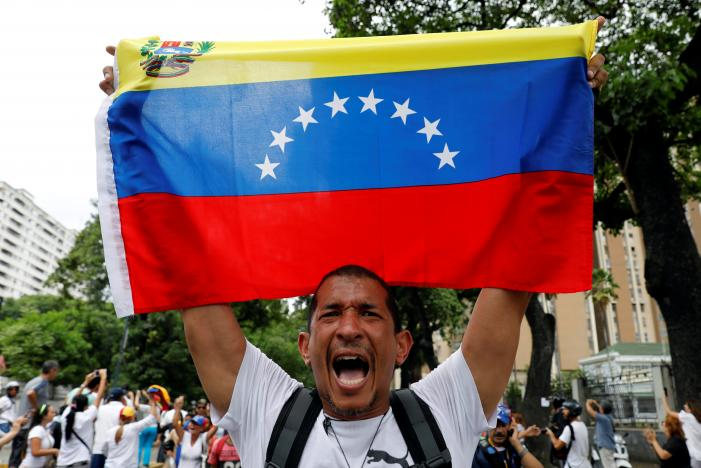 Opposition Holds March in Honor of Victims of Venezuela Protest Unrest