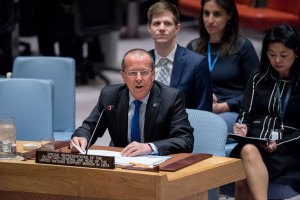 Martin Kobler, Special Representative of the Secretary-General and Head of the UN Support Mission in Libya (UNSMIL), briefs the Security Council.