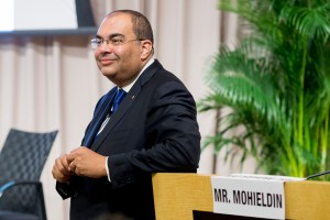 Mahmoud Mohieldin, World Bank Group Senior Vice President for the 2030 Development Agenda, United Nations Relations, and Partnerships