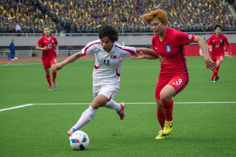 Pyongyang Hosts South Korea in Football Qualifier