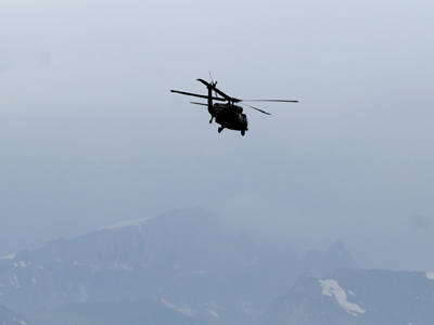 Turkish Helicopter Crashes in Southeast