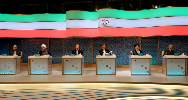 Jahangiri Stole Lights in Iran's First Live Presidential Debate