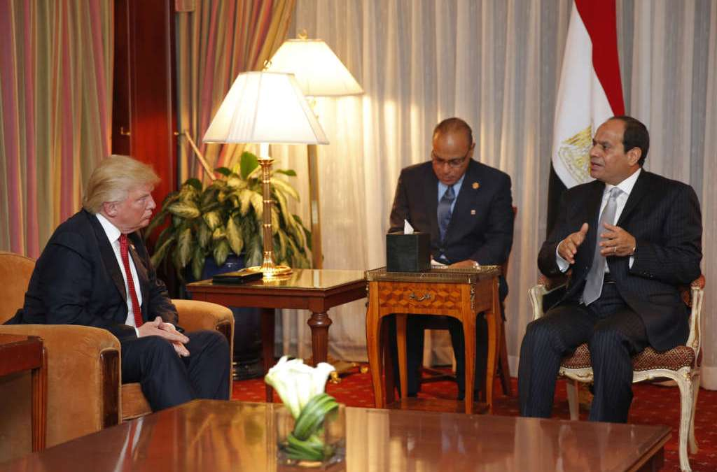 Trump, Sisi to Discuss Terrorism and Peace Process