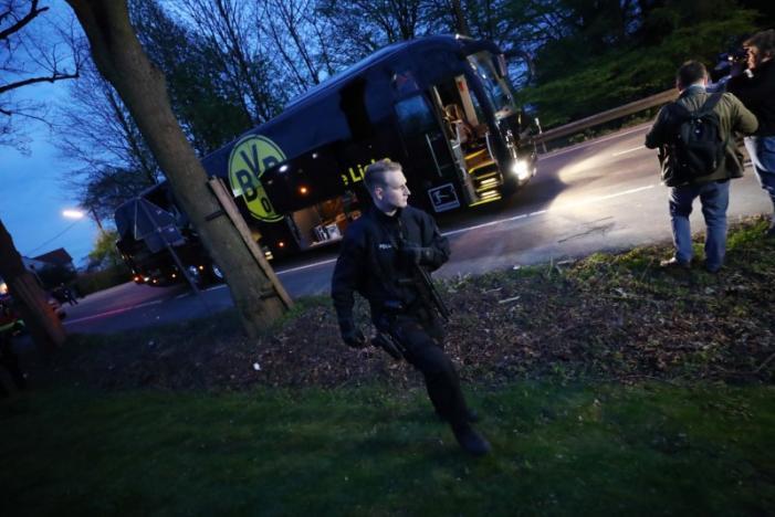 Blasts Hit Borussia Dortmund Team Bus, Injuring Bartra