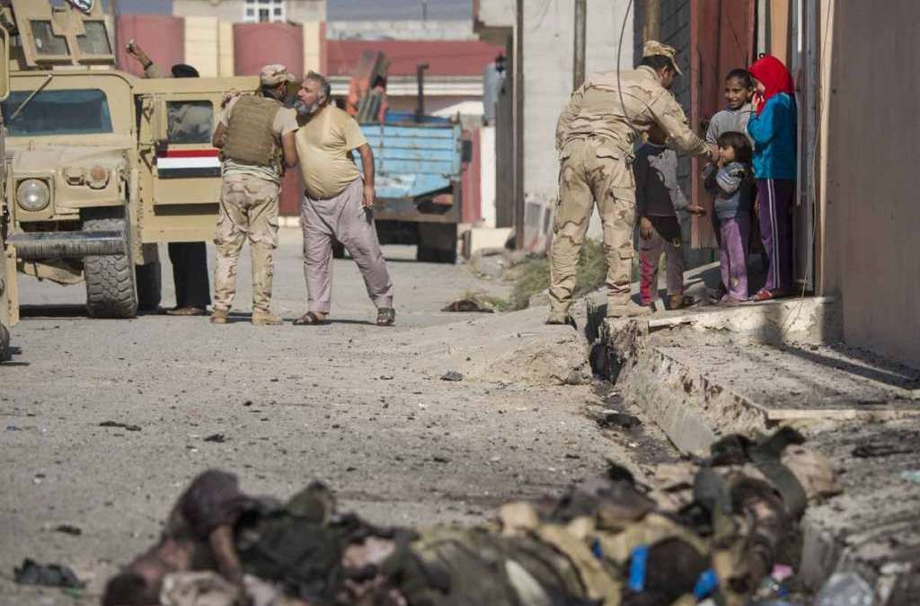 Iraq Counterterrorism Efforts Destroy ISIS Bastion in Mosul