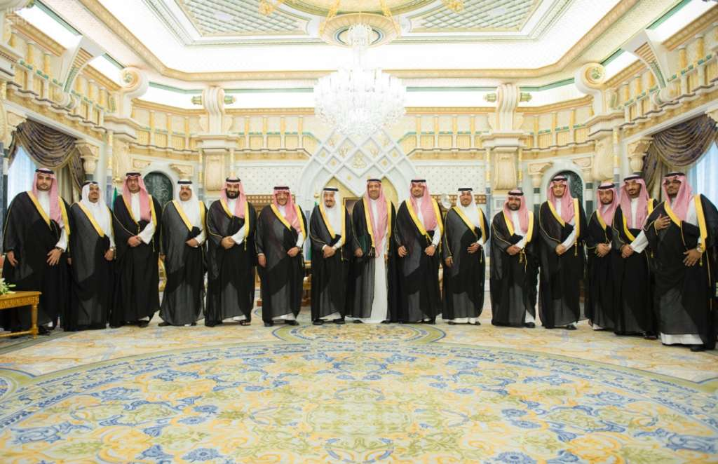 Newly Appointed Princes, Ministers Swear In Before the King