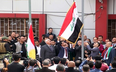 Kirkuk Flags Unify Kurds, Turkey Says they are a 'Huge Mistake'