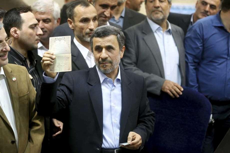 Ahmadinejad Barred from Iran's Presidential Race