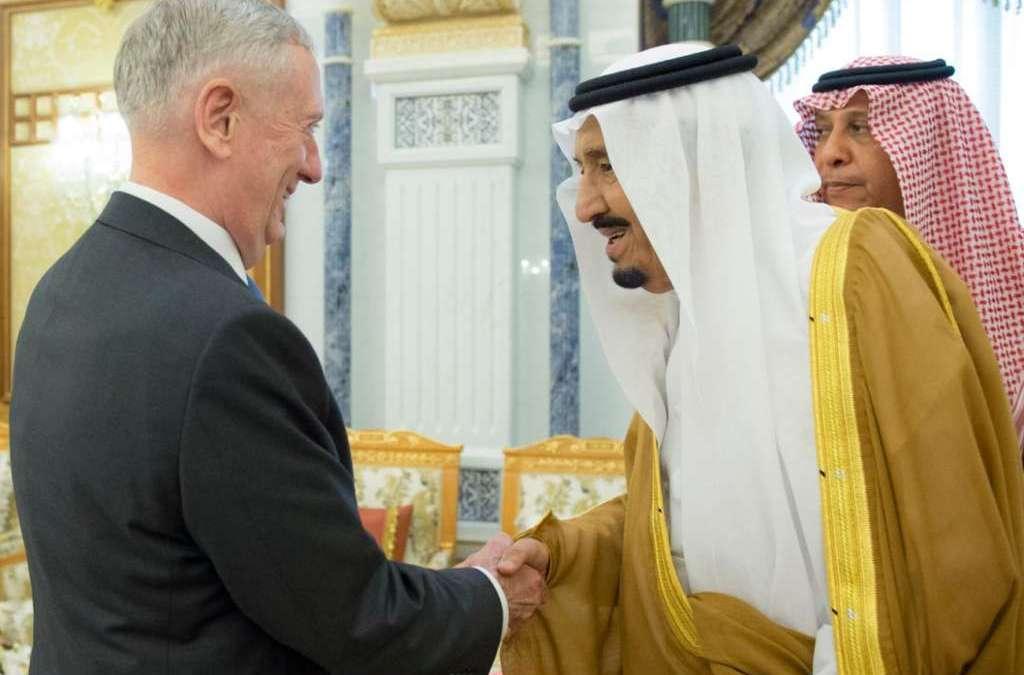 King Salman, Mattis Discuss Saudi-US Strategic Friendship