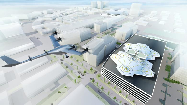 Uber to Launch Flying Taxi by 2020