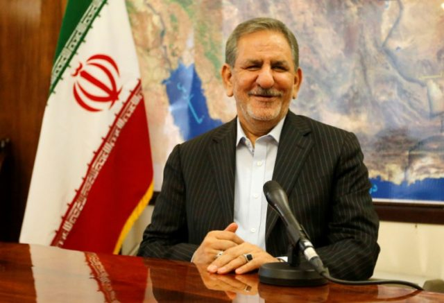 Iran VP Jahangiri Withdraws Bid for Presidential Elections, Supports Rouhani
