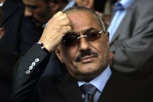 Yemen's former president Ali Abdullah Saleh