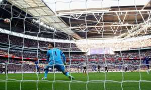 Nemanja Matic beats Tottenham's Hugo Lloris with a spectacular shot to secure an FA Cup semi-final win as Chelsea found a way to prevail.