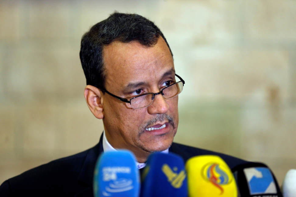Ould Cheikh Discusses with Houthi, Saleh Militias in Sana'a 3 Files