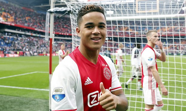 Ajax's Justin Kluivert Wants to Be the Best, Not Just Famous for His Dad