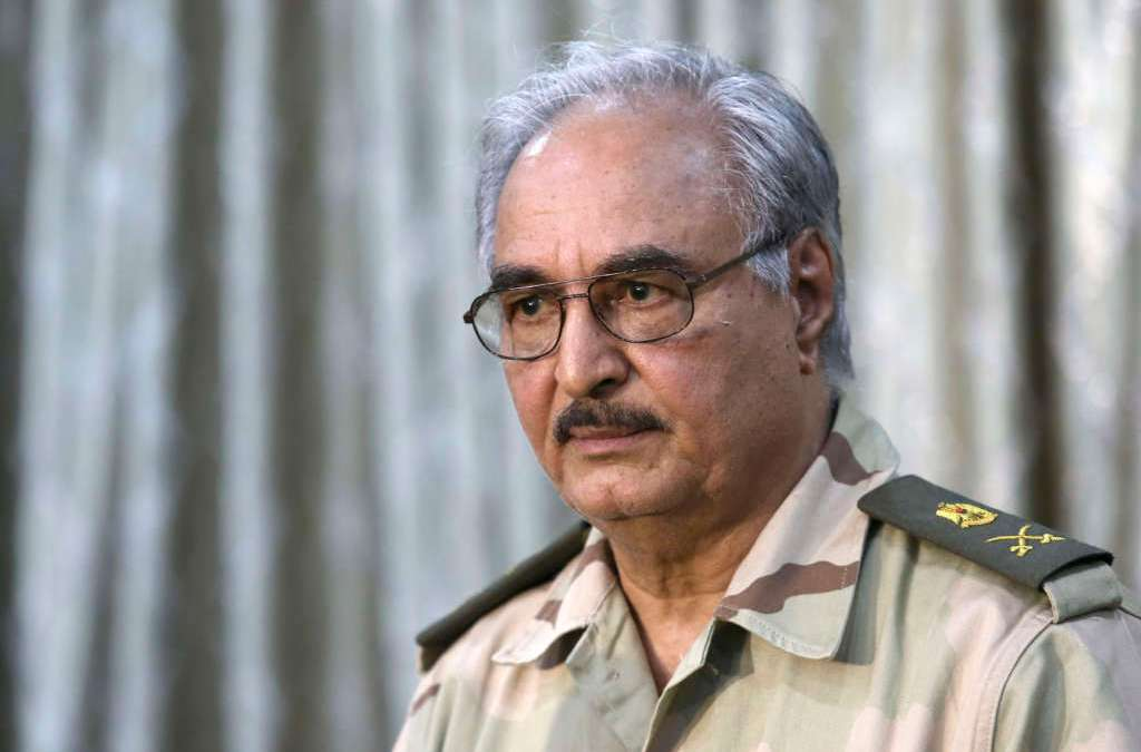 Chief of Staff of Egyptian Army Visits Benghazi, Meets Haftar
