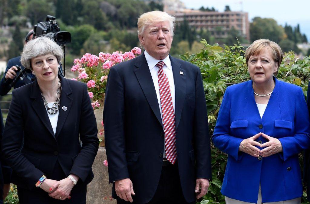Britain Assures Merkel: We Will Be Strong Partner for Germany