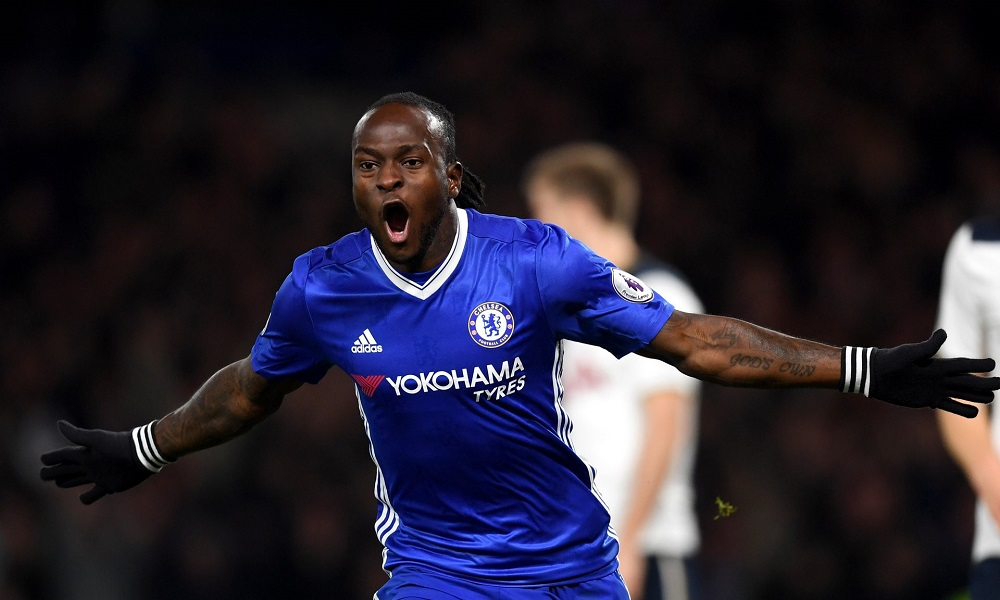 Chelsea's Victor Moses … Rediscovered by Antonio Conte