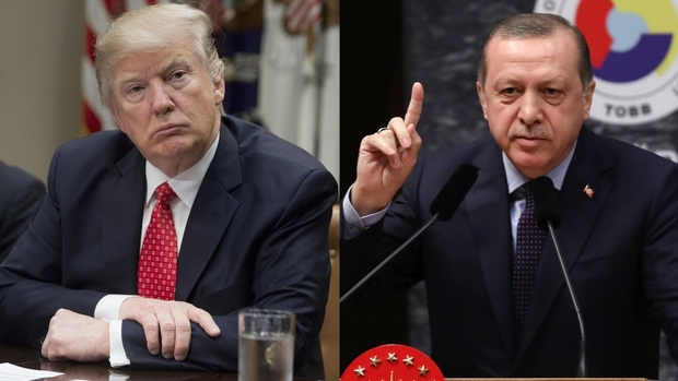 Erdogan Says Trump's Kurdish Arms Move Harms Ties