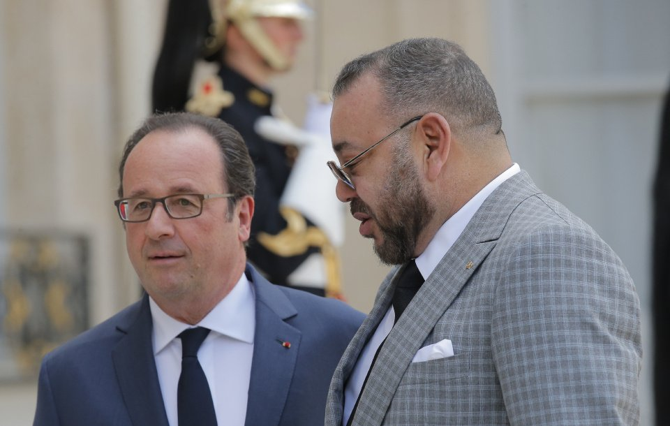 King Mohammed VI, Francois Hollande Reiterate Trust in Bilateral Partnership