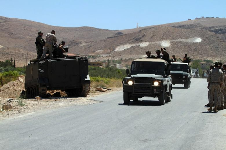 6 Wounded after ISIS Militant Blows himself up against Lebanese Army Patrol