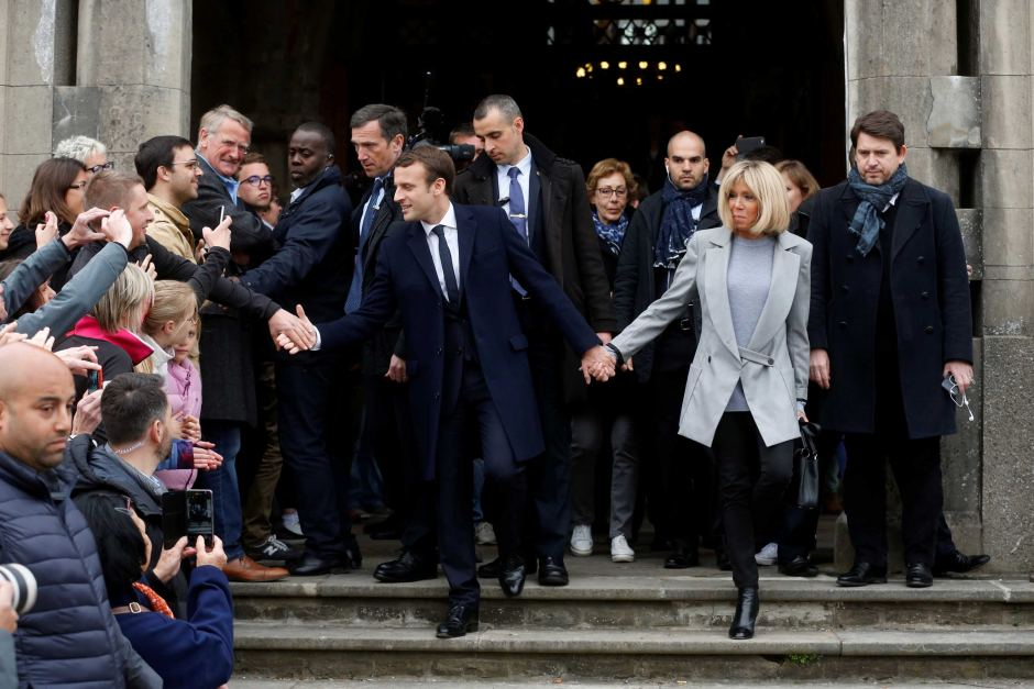 Feminists Defend France's First Lady